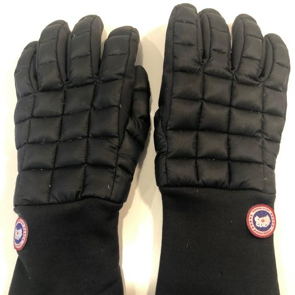 Canada Goose down Gloves - Men's Large